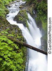 cascadas,  Duc,  Sol,  Washington