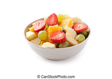 fruit salad - photo shot of fruit salad