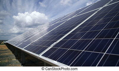 Solar power plant solar panels - Solar power plant, solar...