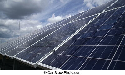 Solar power plant. solar panels - Solar power plant, solar...