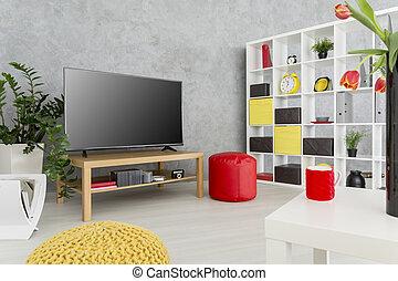 Practical modern decor for a single man - Contemporary...