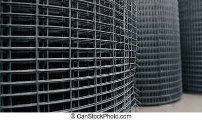 Rolls of Metallic Net , Steel Chicken Wire, Building...