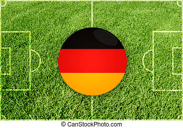 Germany football symbol