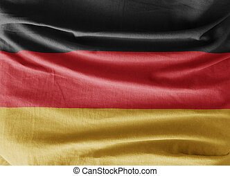Flag of Germany Front view