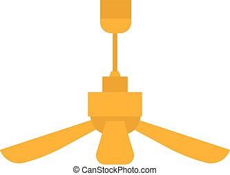 Room fan vector illustration.