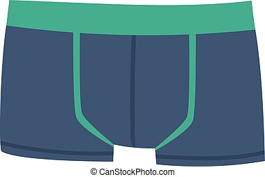 Mens underpants vector illustration - Mens briefs isolated...