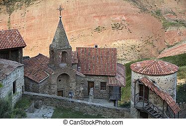 Monastery David Gareji in southern Georgia - View from top...