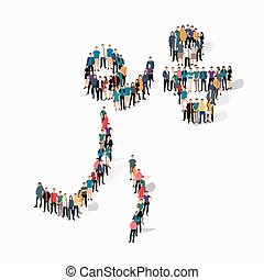 people sports basketball vector - Isometric set of styles,...