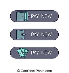 Web payment button - The process of payment Rent, salary...