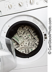 money laundry, Organized Crime concept