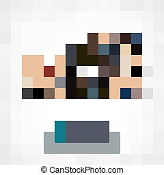 people sports swimming vector - Isometric set of styles,...