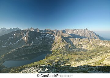 High Tatra Mountains - Highest peaks of the Tatra Mountains...