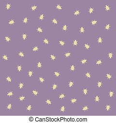 many beetles pattern - Creative design of many beetles...