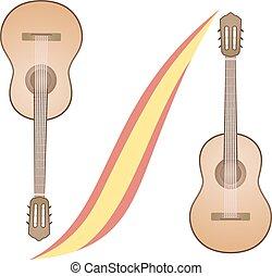 spanish guitars - Creative design of spanish guitars