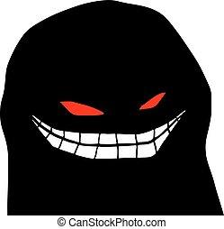 terror face - Creative design of terror face