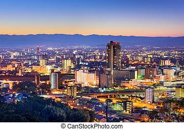 Kumamoto, Japan Skyline - Kumamoto, Japan downtown skyline.