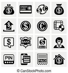 Vector Bank icon set