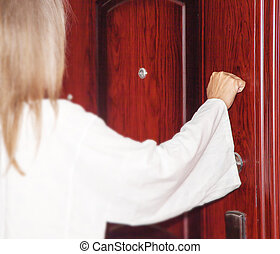 I stand at the door and knock - Behold, I stand at the door...