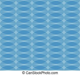 Seamless monochrome pattern with transparent overlapping...