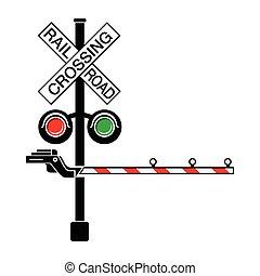 Railroad Crossing Clip Art Railroad crossing Clip...