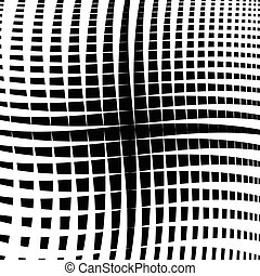 Rippled grid, mesh - Intersecting lines texture, abstract...