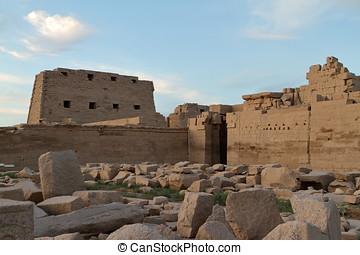 den, tempel, av, Karnak, In, egypten