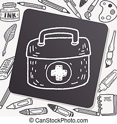 First aid kit doodle