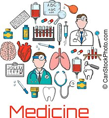 General medicine and healthcare sketches - General medicine...