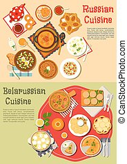 Everyday meals of russian and belarusian cuisine -...