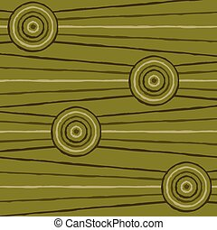 Abstract Aboriginal line painting in vector format