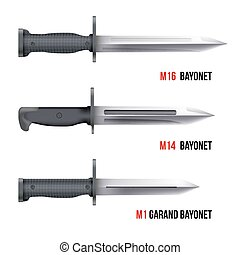 Bayonet Knives for rifles - Bayonet Knives for different...