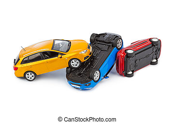 Crash toy cars