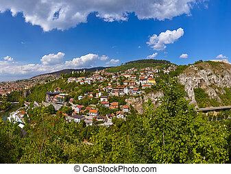 Cityscape of Sarajevo - Bosnia and Herzegovina -...