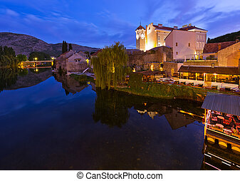 Cityscape of Trebinje - Bosnia and Herzegovina -...