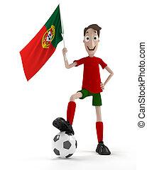 ポルトガル語, サッカー, プレーヤー