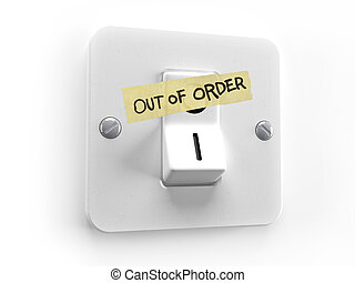 Energy Out of order