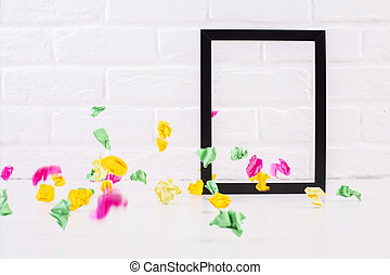 See-through frame - Decorative see-through picture frame and...