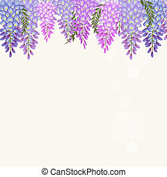 Wisteria Illustrations and Clip Art. 152 Wisteria royalty ...
