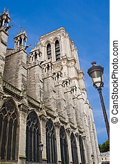 North Tower of Notre-Dame Cathedral, Paris - North Tower...