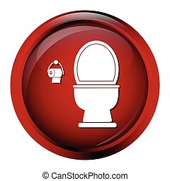 Toilet icon sign vector illustration