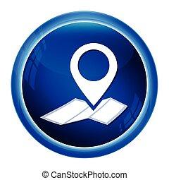 karta, stift,  Illustration, knapp, lokalisering, ikon