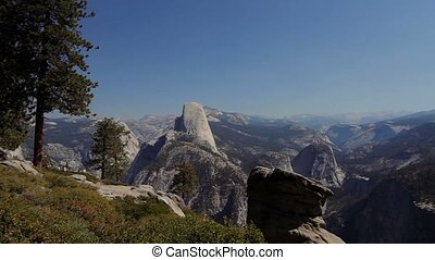Half Dome Scenic Point, Yosemite Nationalpark, United States...