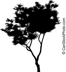 Tree vector - Tree made in vector