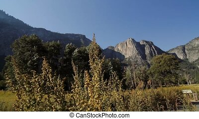 Cathedral Rocks, Yosemite Nationalpark, United States -...