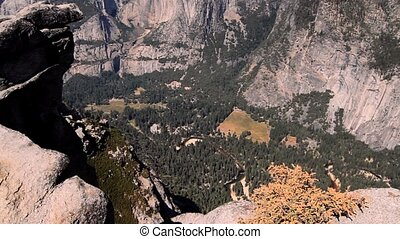 Yosemite Village, Yosemite National park, United States -...