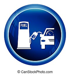 Fuel pump icon illustration - Fuel pump symbol, icon...