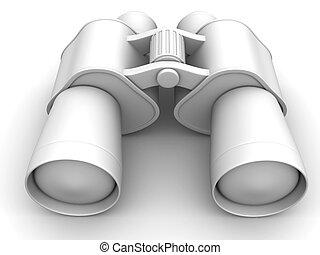 Binoculars. 3d