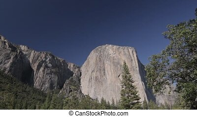 Cathedral Rocks, Yosemite Nationalpark, United States - Flat...