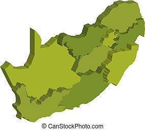 administrative divisions of rsa