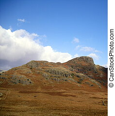 Langdale, Cumbria - Langdale in The English Lake District,...